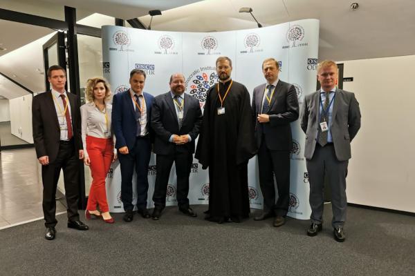 Представители Российской ассоциации защиты религиозной свободы приняли участие в ежегодном Совещании ОБСЕ по обзору выполнения обязательств в области человеческого измерения