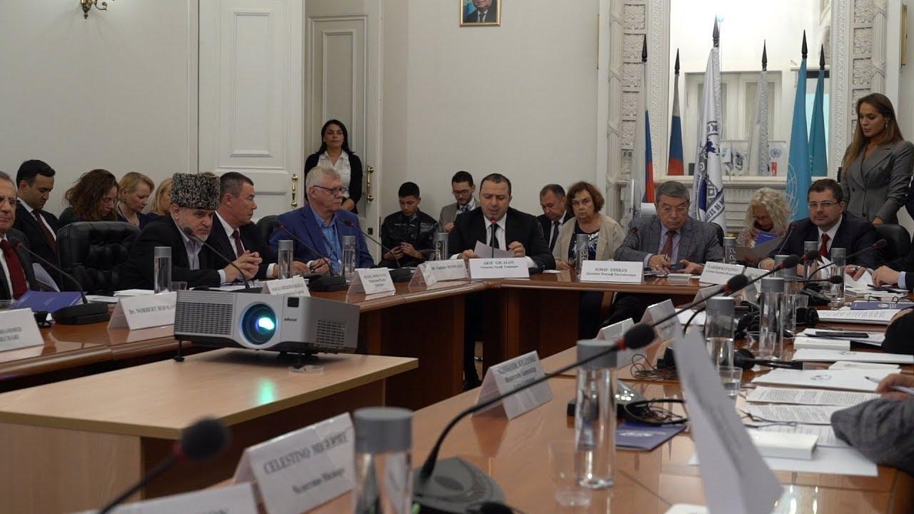 Embedded thumbnail for Межконфессиональный диалог и Цели в области устойчивого развития