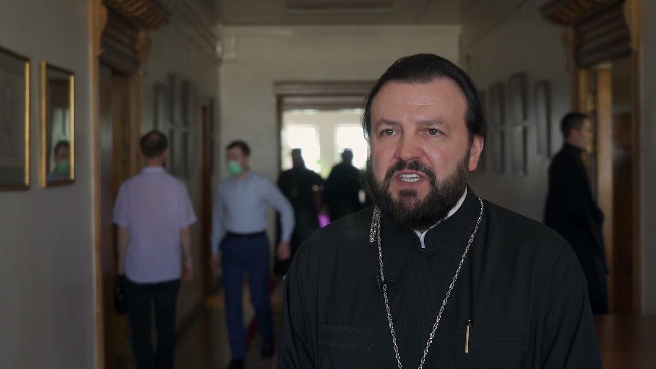 Embedded thumbnail for В ОВЦС при участии РАРС состоялся круглый стол, посвященный христианским святыням на Ближнем Востоке