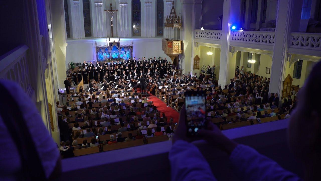 Embedded thumbnail for Межхристианское мероприятие по празднованию 200-летия Лютеранского собора святых Петра и Павла
